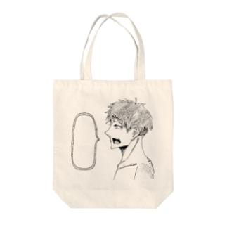 オリキャラ Tote bags
