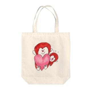 親子のおさる Tote bags