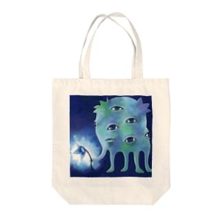 アレ Tote bags