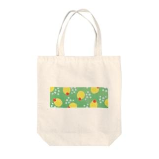 クリームソーダっぽい水玉 Tote bags