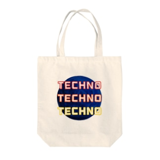 techno planets Tote bags