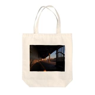 バックパッカー思い出T@NYC Tote bags