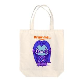 (10点限定)アマビエさま Tote bags