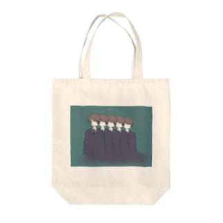 マニュアル人間 Tote bags
