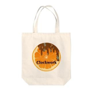 チョコじかけのオレンジ Tote bags