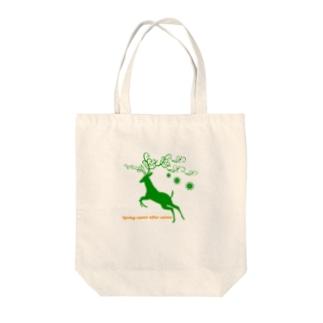 ペペロペロの冬が終われば春が来る Tote bags