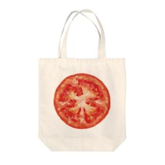 ポリゴントマト Tote bags