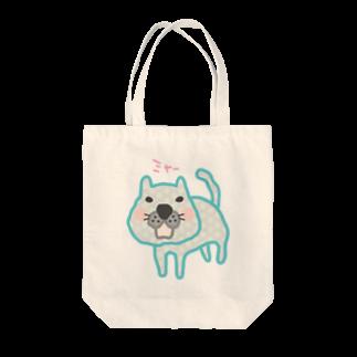 #104のみずたまのネコ Tote bags