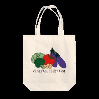 Midfield Designの農家さん Tote bags