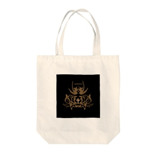 Myalmoの黒と王冠 Tote bags