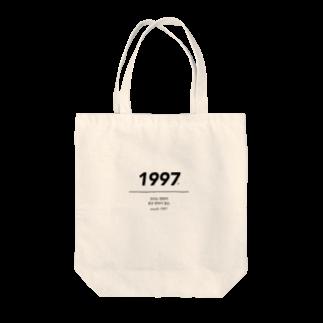 momoko_shopのyouth 1997 jk Tote bags