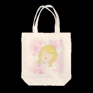 ____jmn5zの恋するギャルちゃん Tote bags