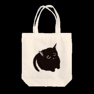 mochi__spopの可愛い猫 きゃっと Tote bags