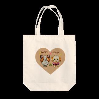 似顔絵 KURI屋のアイカナ💗 Tote bags