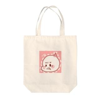 ふんばりよーじ Tote bags