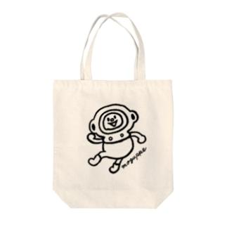 元気もりもりモグっぺ Tote bags