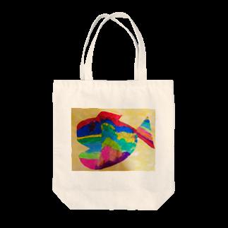 jolie-factoryのぼうけん魚 Tote bags