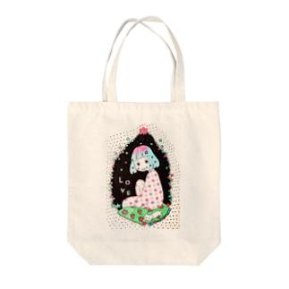 星の夢(L・O・V・E) Tote bags