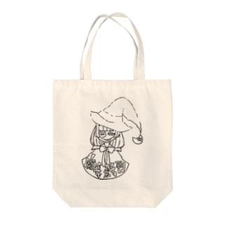 魔女裁判 Tote bags