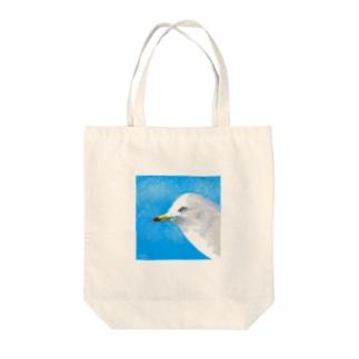 ウミネコ Tote bags