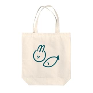 うさぎ年のうお座 Tote bags
