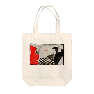 コーヒー&シガレッツ Tote bags