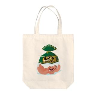 ウインナーパグ Tote bags