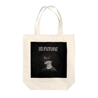 X1 FUTURE Tote bags