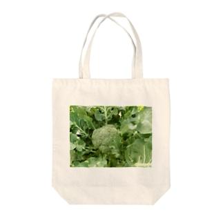 日本の野菜:ブロッコリー Broccoli Tote bags