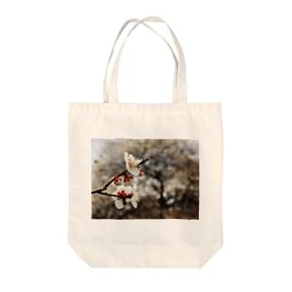 梅 ウメ Japanese apricot DATA_P_098 春 spring Tote bags