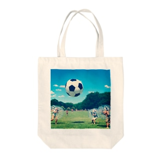 Bubble Soccer Tote bags