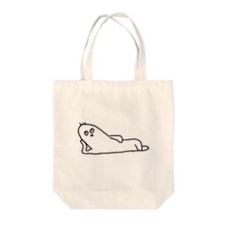 だらけ Tote bags