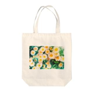 閃く(雛菊) Tote bags