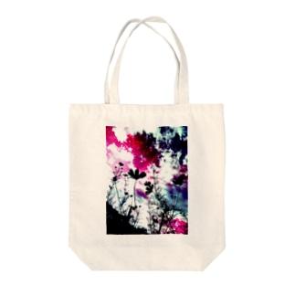 瞬時(秋桜) Tote bags