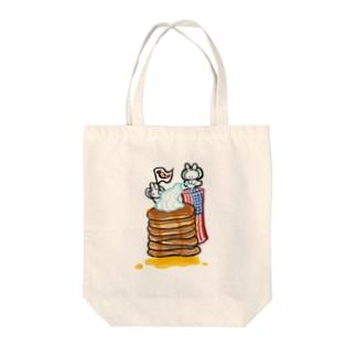 usa_hotcake Tote bags