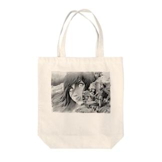 山の怪 Tote bags