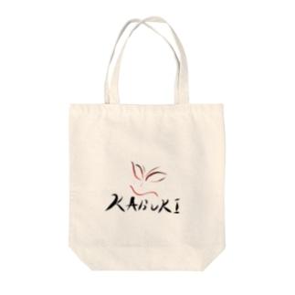 sakura-filmsのかぶき隈取り(文字あり) Tote bags