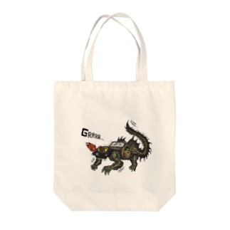 4WD-DRAGON Tote bags