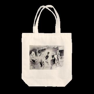 ベアアタックの猫缶工場 Tote bags