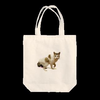 濱田のねこ シュール ちゃん Tote bags