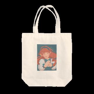 MINiの女の子 Tote bags