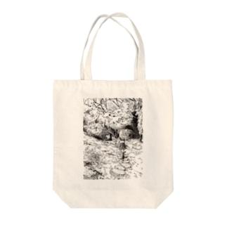 森の道 Tote bags