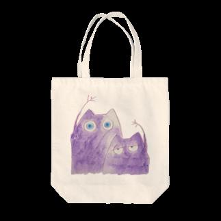38_のむらさきのいきものたち Tote bags