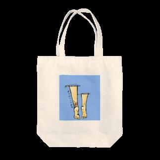 157_imの頑張る人の足 Tote bags