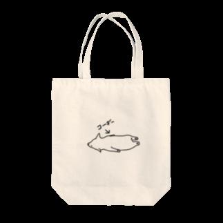 たぶん、デザインの【たぶん】コーギー  トートバッグ Tote bags