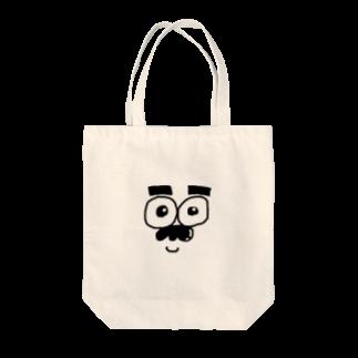 まめのひげ Tote bags
