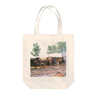 FUCHSGOLDのモロッコ:青空市場 Morocco: Market Tote bags