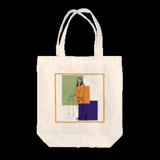 Ma Chérieのスケボ女子2 Tote bags