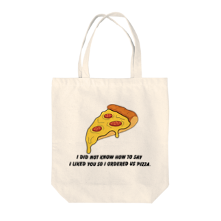 people with soulsのPIZZA collection Tote bags