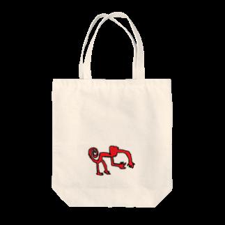 アメリカンベースのナスカのサル Tote bags